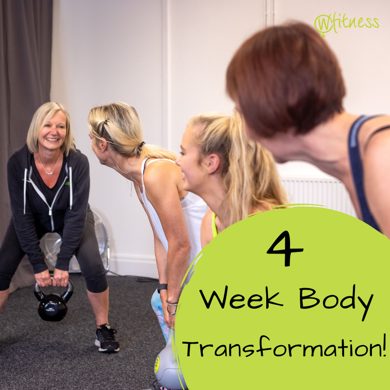 4 week body Transformation