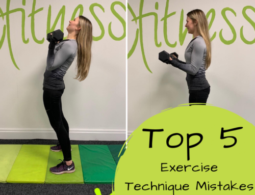 Top 5 Exercise Technique Mistakes and Why You're Not Losing Weight