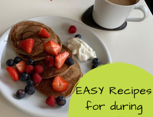 EASY Recipe ideas to keep you healthy during lockdown