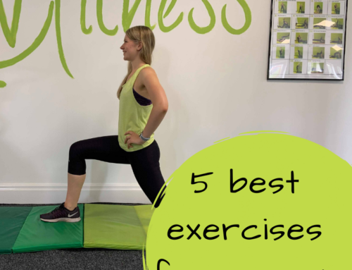 The 5 best exercises for women!